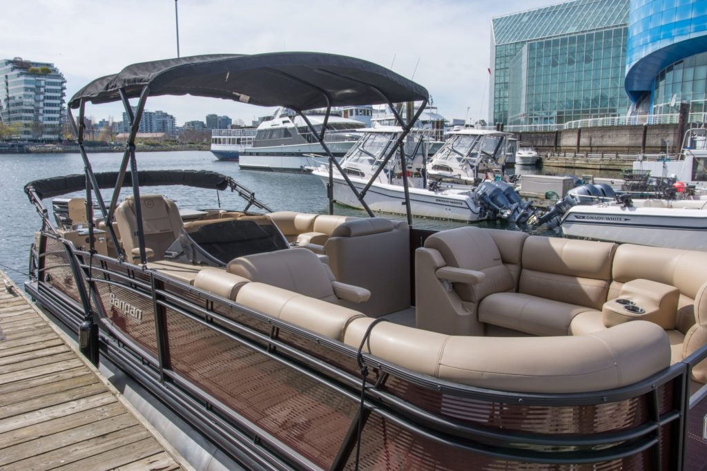 Godfrey Sanpan Luxury Pontoon Boat